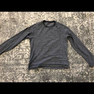 Men's L Metal Vent Tech Long Sleeve